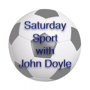 Saturday Sport and music with John Doyle. During the season a full programme of football and sports coverage featuring commentary on Leyton Orient and West Ham matches